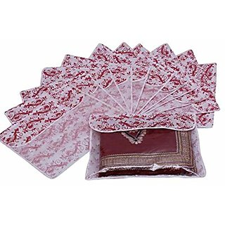 Saree Cover Printed Flaps - 12 Pcs K015