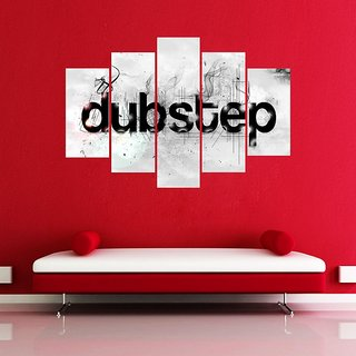 Impression Wall Dubstep Wall Sticker