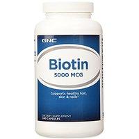 GNC Biotin 5000 Mcg 240 Capsules
