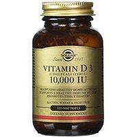 Solgar, Vitamin D3 (Cholecalciferol) 10,000 IU 120 Soft