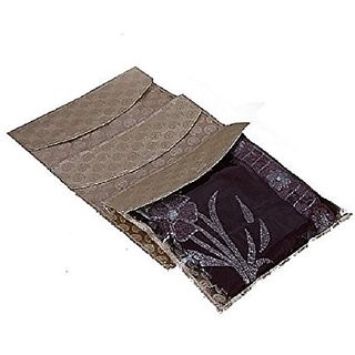 Saree Packing Cover 6 Pcs Combo In Brocade Ki0023022