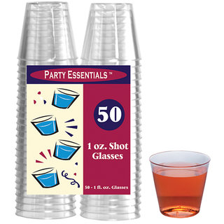 True Vino 30Ml Hard Plastic Shot Glasses (50 Pc)