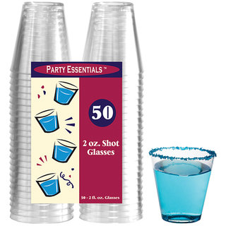 True Vino 60Ml Hard Plastic Shot Glasses (50 Pc)