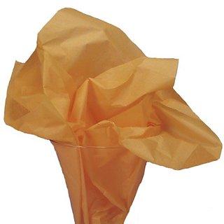 Dress My Cupcake DMC79441 25-Piece Tissue Paper, 20 by 14-Inch, Orange