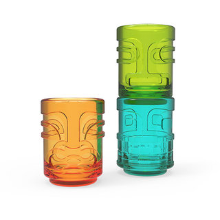 True Zoo Tiki Trio Stacking Shot Glass