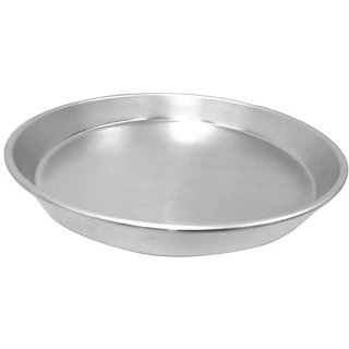 Allied Metal CPT7X2 Hard Aluminum Pizza Pan, Tapered Design, 7-Inch