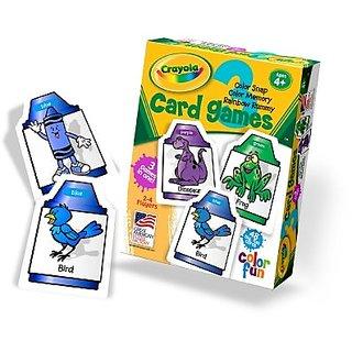 Crayola Card Game Game