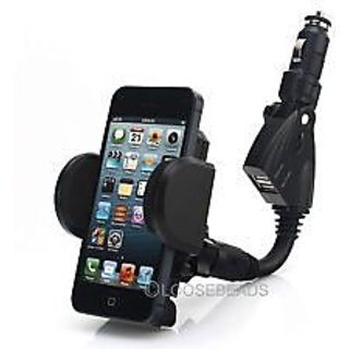 Universal Mobile Car Charger Holder Powermount Mount For Samsung Iphone Nokia Sony