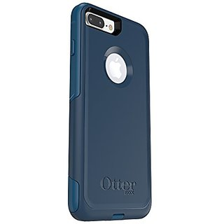 huge discount 0911e 94ac4 OtterBox COMMUTER SERIES Case for iPhone 7 Plus (ONLY) - Retail Packaging -  BESPOKE WAY (BLAZER BLUE/STORMY SEAS BLUE)