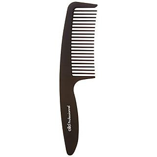 Elite Models Detangling Comb with Hand Grip, Black, 1.64 Ounce
