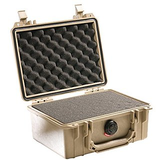 Pelican 1150 Case With Foam For Camera Desert Tan