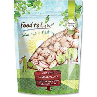 Food To Live Cranberry Beans Borlotti 5 Pounds