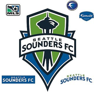 Mls Seattle Sounders Fc Logo Wall Graphic