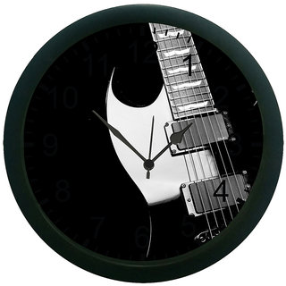 AE World Guitar Wall Clock (With Glass)