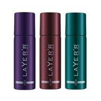 Layer'r Deodorant Combo For Men (Set Of 3) 120ml Each