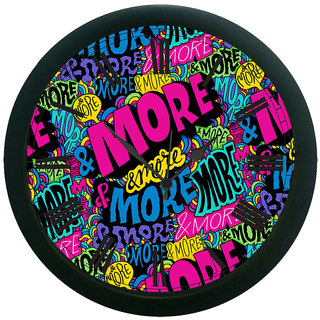AE World More Wall Clock (With Glass)