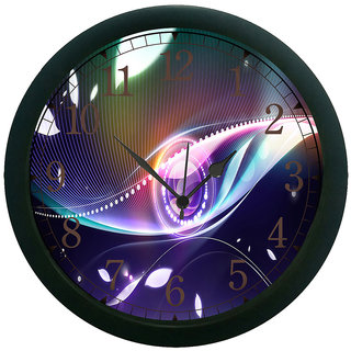 AE World Pattern Wall Clock (With Glass)
