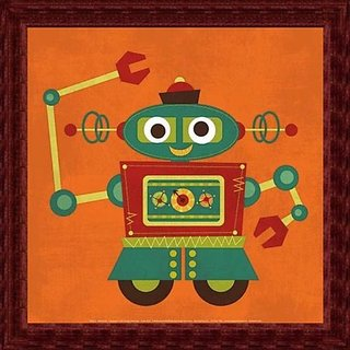 Printfinders Wall Decor, Robot 2