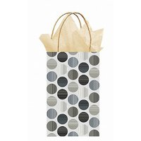 Party Bag - Polka Dot (Silver With Dots) Party Accessor