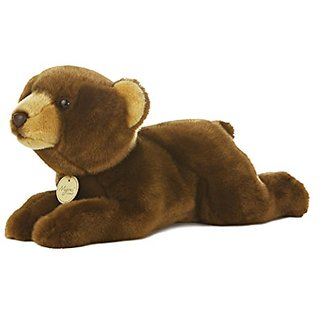 Aurora World Miyoni Brown Bear Plush, 16