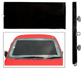 Car Front Window Horizontal Roller Sunshade Black Colour