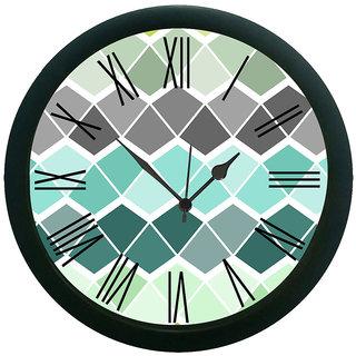 AE World Geometrical Multi Wall Clock (With Glass)