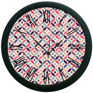 AE World Ethnic Multi Wall Clock (With Glass)