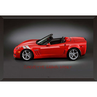 Hungover Corvette Grand Sport Special Paper Poster (12x18 inches)