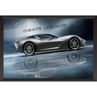Hungover Corvette Sideswipe Special Paper Poster (12x18 inches)
