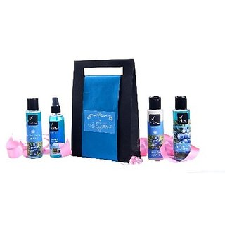 Juniper Berry Cypress Body Wash - 100ml, Juniper Berry Cypress Face Wash - 100ml, Juniper Berry Cypress Body Latte - 100ml, Sweet Ocean Body Mist - 100ml