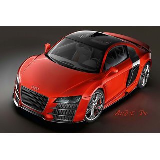 Hungover Audi R8 Special Paper Poster (12x18 inches)