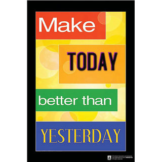 Hungover Make Today Better Than Yesterday Special Paper Poster (12x18 inches)