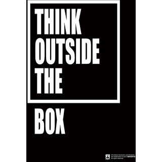 Hungover Think Outside The Box Special Paper Poster (12x18 inches)