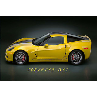 Hungover Corvette Gt1 Special Paper Poster (12x18 inches)