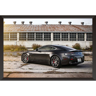 Hungover Aston Martin Db9 Special Paper Poster (12x18 inches)
