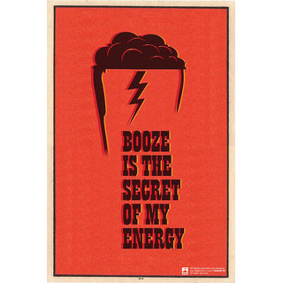 Hungover Booze Special Paper Poster (12x18 inches)