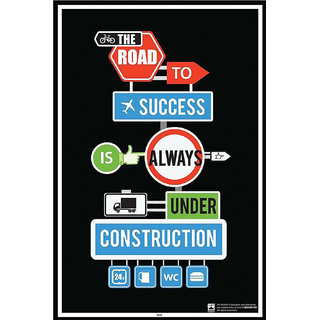 Hungover Road To Success Special Paper Poster (12x18 inches)