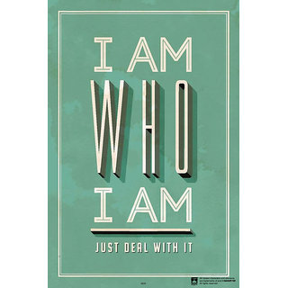Hungover I Am Who I Am Special Paper Poster (12x18 inches)