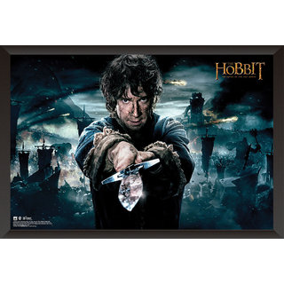 Hungover The Hobbit Battle Of Five Armies Special Paper Poster (12x18 inches)