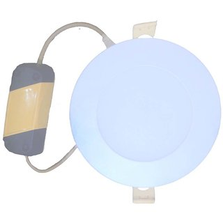 SHELTON 3W Led Slim Panel Lights. (White,Round )