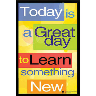 Hungover Great Day Quote Special Paper Poster (12x18 inches)