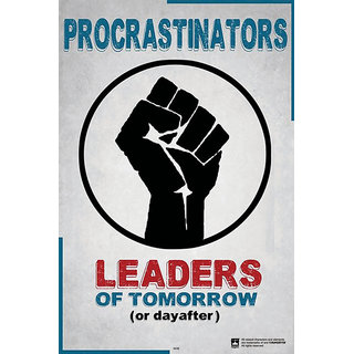 Hungover Leaders Of Tomorrow Special Paper Poster (12x18 inches)