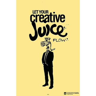 Hungover Creative Juice Special Paper Poster (12x18 inches)