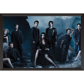 Hungover The Vampire Diaries Special Paper Poster (12x18 inches)