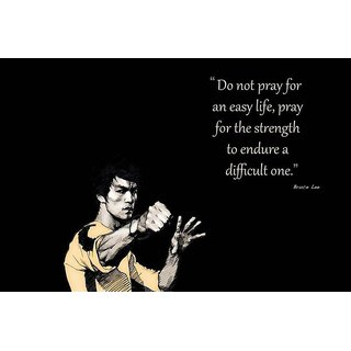 #N/A Bruce Lee Special Paper Poster (12x18 inches)