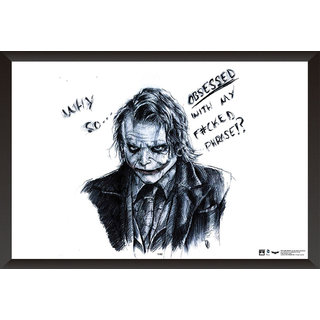 Hungover Heath Ledger Art Special Paper Poster (12x18 inches)