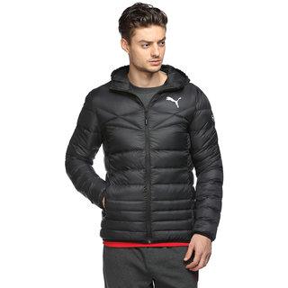 2721d14b5c29 Buy Puma Slim Fit Black Padded Jacket For Men Online   ₹5999 from ...