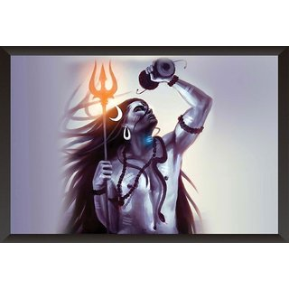 Hungover Shiva Special Paper Poster (12x18 inches)