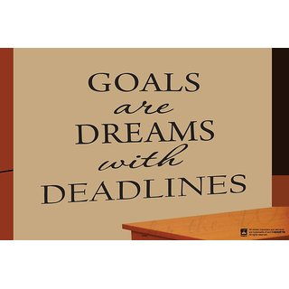 Hungover Goals Are Dreams With Deadlines Special Paper Poster (12x18 inches)