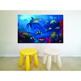 Impression Wall Aquarium Poster
